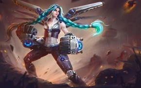 Picture Girl, The game, Girl, Art, Art, Fiction, Game, League of Legends, LoL, Character, Riot Games, …