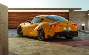 Picture Auto, Yellow, Machine, Toyota, Car, Supra, Sports car, Transport & Vehicles, Ryan Giffary, by Ryan …