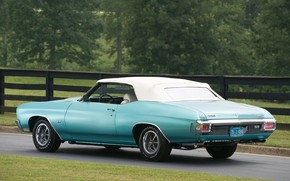 Picture Chevrolet, Classic, Convertible, Chevelle SS, SS 454 PRO LS6