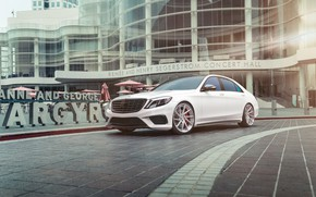 Picture Mercedes, AMG, White, W222, S63