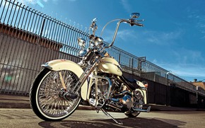 Picture Classic, Harley-Davidson, Motorcycle