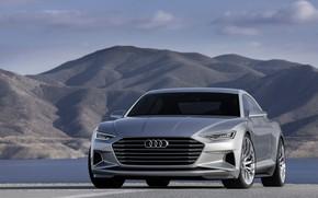 Picture front view, Coupe, 2014, coupe, Prologue, Concept, Audi