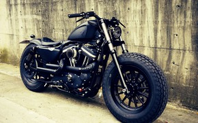Picture Custom, Motorcycle, Bobber