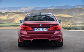 Wallpaper BMW, feed, 2017, M5, F90, M5 First Edition
