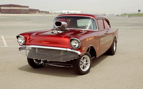 Picture Chevy, Custom, Gasser, Vehicle, Super Muscle Car