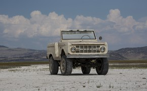 Picture tuning, Ford, SUV, 1966, 2018, Bronco, ICON Bronco Derelict Roadster