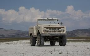 Picture tuning, Ford, SUV, 1966, 2018, Bronco, ICON Bronco Derelict Roadster