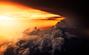 Picture the sky, light, clouds, nature
