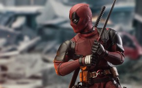 Picture comics, hero, film, wade wilson, Deadpool 2, Deadpool 2