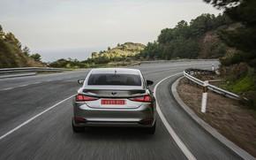 Picture Lexus, Toyota, sedan, rear view, hybrid, Avalon, four-door, 2019, ES 300h
