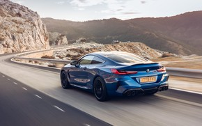Picture speed, BMW, Coupe, Competition, UK-Spec, 2019, BMW M8, F92