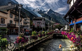 Picture mountains, France, Chamonix