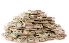 Picture money, dollar, currency, bills, fon, packs, dollar, a lot of money