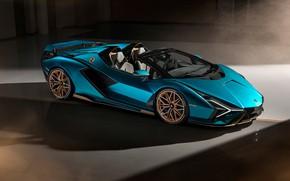 Picture lamborghini, supercar, Lamborghini Sian Roadster