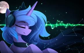 Picture background, art, pony