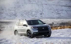 Picture snow, Honda, 2019, Passport