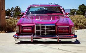 Picture Ford, Lowrider, Custom, Thunderbird, Vehicle, Ford Thunderbird