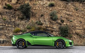 Picture Lotus, in profile, 2020, Evora GT