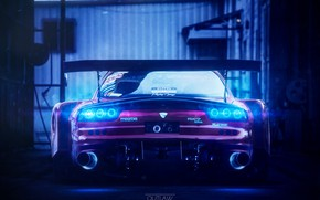 Picture Auto, Machine, Mazda, Car, Mazda RX-7, Outlaw, Ned Souris, Transport & Vehicles, by Ned Souris, …