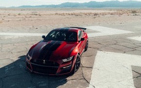 Picture road, machine, style, lights, Ford, sports, sports car, Ford Mustang Shelby GT500, 2020