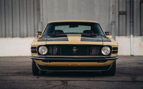 Picture Mustang, Ford, Boss 302, front view, 1970, SpeedKore, RDJ