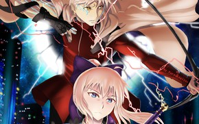Picture the saber, Archer, Fate / Grand Order, The destiny of a great campaign