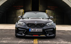 Picture BMW, front view, 2018, Competition, M Performance, F87, BMW M2, M Performance Accessories