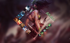 Picture the game, Akali, League of Legends