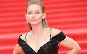 Picture look, pose, makeup, actress, Yulia Peresild, Yulia Peresild