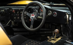 Picture Ford, Salon, Speedometer, The wheel, 1966, 24 Hours of Le Mans, 24 hours of Le …
