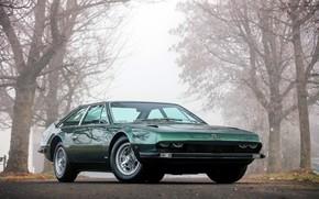 Picture fog, Lamborghini, 1970, Lamba, Jarama, 400 GT