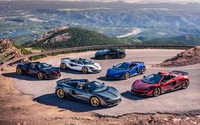 Picture McLaren, supercar, Spyder, supercars, Pikes Peak, MSO, 2019, 600LT