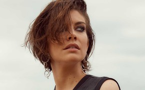 Picture model, makeup, actress, hairstyle, brown hair, beauty, hair, Lauren Cohan, Lauren Cohan