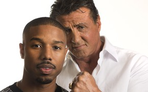 Picture Sylvester Stallone, Creed, Sylvester Stallone, Michael B. Jordan, Michael B. Jordan, Rocky Balboa, Adonis Creed, …