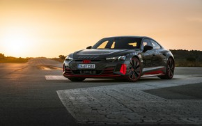Picture Audi, coupe, the evening, 2020, RS e-Tron GT Prototype