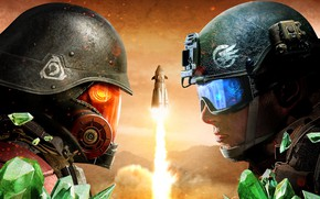 Wallpaper 2018, Command & Conquer: Rivals, Electronic Arts, Command & Conquer, game