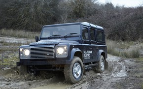 Picture prototype, Land Rover, the ground, Defender, 2013, All-terrain Electric Research Vehicle