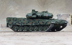 Picture tank, armored vehicles of Poland, Leopard 2PL