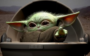 Picture baby, the series, Mandalore, baby yoda