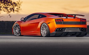 Picture Auto, Machine, Orange, Gallardo, Lamborghini Gallardo, Sports car, Transport & Vehicles, by Cameron Parmer, Cameron …