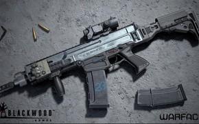 Picture rendering, weapons, Machine, Render, weapon, warface, Assault rifle, Assault Rifle, Bren, CZ 805, 3D, varfeys, …