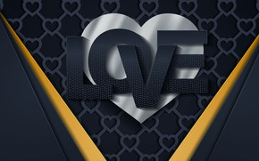 Picture love, line, background, texture, love, Valentine's day, hearts