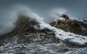 Picture sea, wave, nature