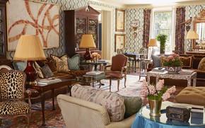 Picture design, style, interior, living room, Atlanta House