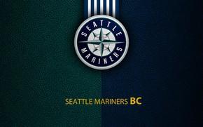 Picture wallpaper, sport, logo, baseball, Seattle Mariners