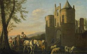 Picture oil, Canvas, Gerrit Adriaenszoon Berckheyde, Gerrit Adriaenszoon Berckheyde, 1698, 5 cm x 46 cm, The …