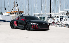 Picture Audi, Auto, Pier, Yachts, Machine, Mast, Car, Render, Design, Supercar, Supercar, Sports car, Sportcar, Mast, …