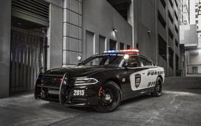 Picture machine, the building, 911, Dodge, bumper, Charger, wheel, Dodge Charger, Police Interceptor, flashers, police car, …