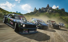 Picture Microsoft, game, Forza Horizon 4, Fortune Island