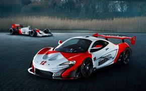 Picture McLaren, GTR, supercar, 2018, Ayrton Senna, McLaren P1, MSO